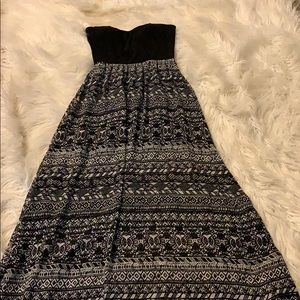Wet Seal Tribal Maxi Dress